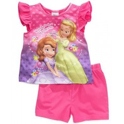 Disney 2-Piece Sophia the First Pajama Set Toddler Girls