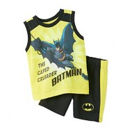 Nannette Boys 2-Piece Batman Set 12-24 months