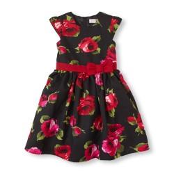 Cap-sleeve rose dress  in Children Place