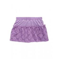 Design History Purple Fluted Skirt - Girls