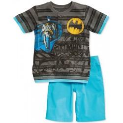Little Boys' 2-Piece Batman Henley & Shorts