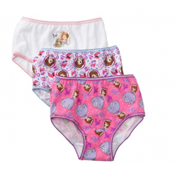 Disney Girls' 2T-4T Assorted 3-pk. Sofia Underwear