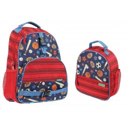 Stephen Joseph All Over Print Backpack and Lunchbox, Sport