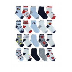 Capelli New York On the Move Socks 20 sets - Toddler
