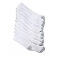 Hanes  Boys 10 Pack Crew Socks - White