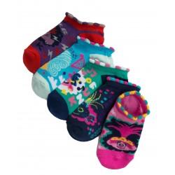 DreamWorks Trolls Girls 5 Pack Trolls Socks