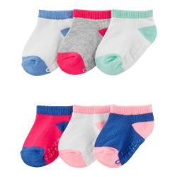 Carter's 6-Pack Socks - Ankle Length
