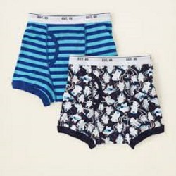 Boy's Ski Boxer Briefs