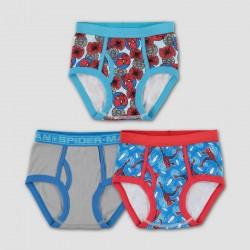 Boys' Marvel Spider-Man 3pk Underwear