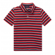 Polo Ralph Lauren Featherweight Cotton Mesh Polo 2T - 7  RED