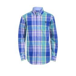 Chaps Boys 4-7 Long Sleeve Woven Top