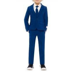 OppoSuits Boys 2-8 Navy Royal Suit
