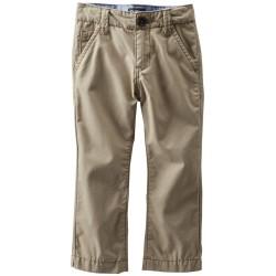 OSHKOSH Boy's Khaki Canvas Pants