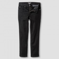 Cat & Jack Boys' Skinny Jeans   - Black Wash