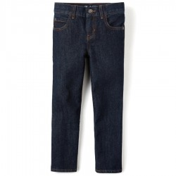 Boys Straight Jeans By CP - Deep Denim