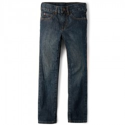 Boys Straight Jeans By CP - Dry Indigo