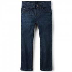 Boys Straight Jeans By CP - Deep Blue