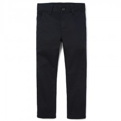Boys Uniform Skinny Chino Pants - Navy by CP