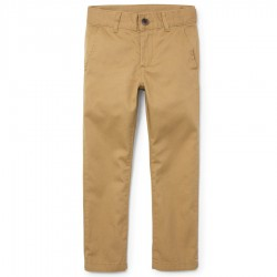 Boys Uniform Skinny Chino Pants - Khaki by CP