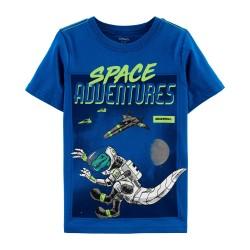 Carter's Kid Space Adventures Jersey Tee