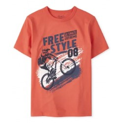 Boys Bike Graphic Tee