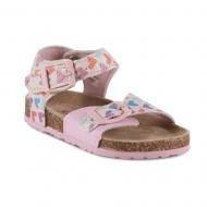 Josmo Toddler Girls' Havi Pink/Heart Sandal
