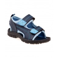 Rugged Bear Navy & Light Blue Sandal - Boys