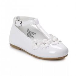 Rachel Shoes Lil Adaline Toddler Girls' T-Strap Dress Flats
