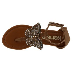 Kensie Girl Butterfly Thong Sandal  (Girls' Toddler-Youth)