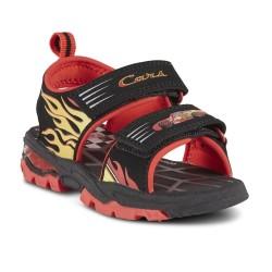Cars  Boys'  Sport Sandal - Black/Red