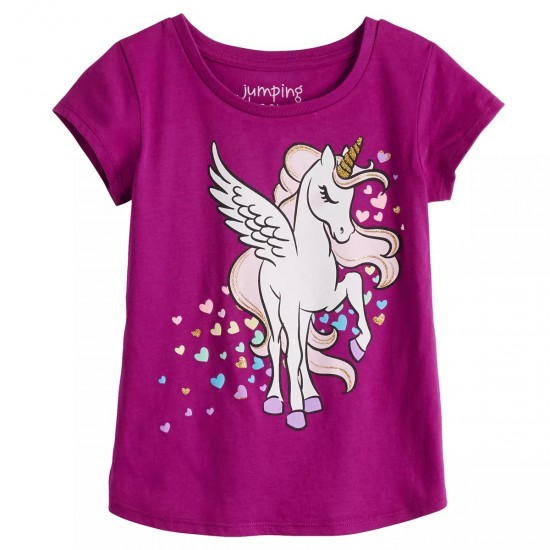 Jumping Beans Magical Unicorn Tee - Toddler Girl