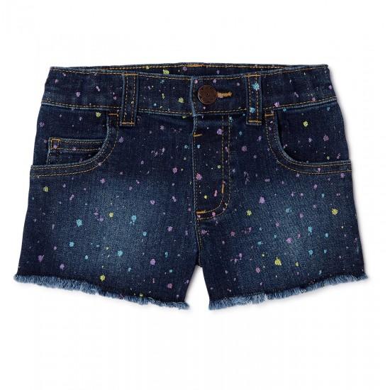 Garanimals Toddler Girls Splatter Print Denim Shorts