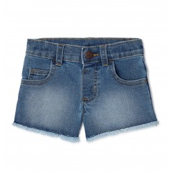 Garanimals Toddler Girls Solid Denim Shorts