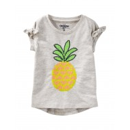 OshKosh B'gosh Pineapple Top - Toddler Girls