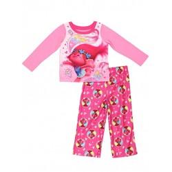 Trolls 2pc Poly Pajama Set - Pink - Toddler