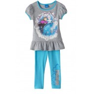 "Disney Frozen  ""Follow Your Heart"" Top & Leggings Set - 2T"