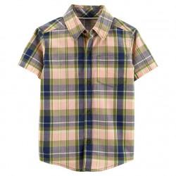 Carter's Plaid Button Down Shirt - Toddler
