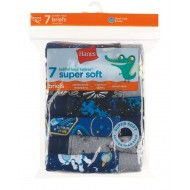 Hanes Toddler Boys' Briefs with ComfortSoft Waistband 7-Pack