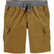 Carter's Pull-On Cargo Shorts - Toddler Boy - Khaki