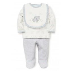 Little Me Baby Boys Elephant Geo Set
