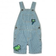 Baby And Toddler Boys Dino Mighty Denim Shortalls by Children's Place