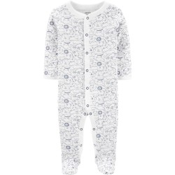 Carter's Animal Snap-Up Cotton Sleep & Play