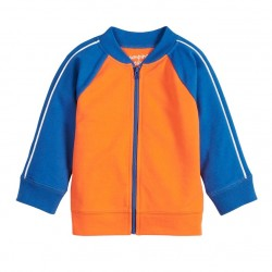 Jumping Beans Piped Track Jacket - Baby Boy