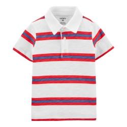 Carter's Baby Striped Polo