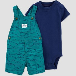 Baby Boys' 2pc Shark Top & Bottom Set - Just One You made by Carter's