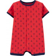 Carter's Anchor Snap-Up Romper