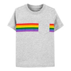 Carter's Rainbow Pocket Jersey Tee - Baby Boys