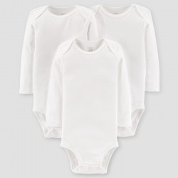 Baby 3Pack Long Sleeve Bodysuit - Just One You by carter's