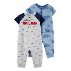 Child of Mine by Carter's Baby Boy One Piece Jumpsuits, 2-Pack