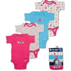 Gerber Onesies Baby girl 4-Pack
